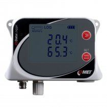 Temperature data logger for two external Pt1000 probes