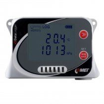 Temperature, humidity and pressure data logger with built-in sensors