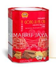 Premier Gong Xi Fa Cai Assorted (Tin) LEE BISCUITS BISCUITS Malaysia, Selangor, Kuala Lumpur (KL), Klang Supplier, Suppliers, Supply, Supplies | Simabru Jaya Sdn Bhd
