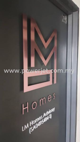 Metal Signage  SIGNBOARD Puchong, Selangor, Malaysia Supply, Design, Installation | Power Jet Solution Sdn Bhd