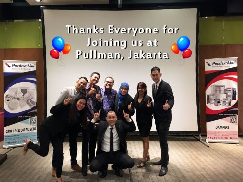 Thank You Everyone for Joining us at Pullman, Jakarta
