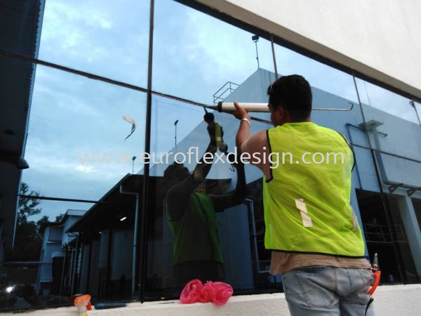 Replace With New Glass  Glass Work  Johor Bahru (JB), Bukit Indah Service, Design, Renovation | Euroflex Design And Construction Work