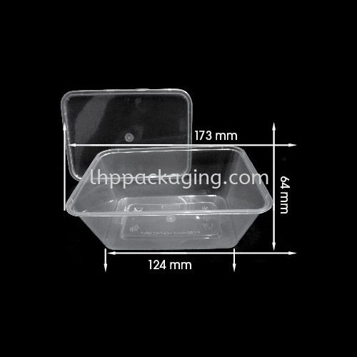Rectangle 1000 Body Rectangle Series Food Container Malaysia, Johor. Manufacturer, Suppliers, Supplies, Supplier, Supply | LHP PACKAGING SDN BHD