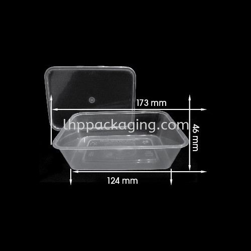Rectangle REC650 Body Rectangle Series Food Container Malaysia, Johor. Manufacturer, Suppliers, Supplies, Supplier, Supply | LHP PACKAGING SDN BHD