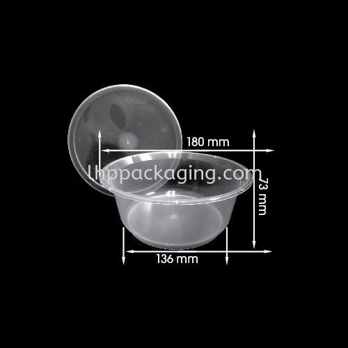 RD 1200 Body Round Series Food Container Malaysia, Johor. Manufacturer, Suppliers, Supplies, Supplier, Supply   LHP PACKAGING SDN BHD