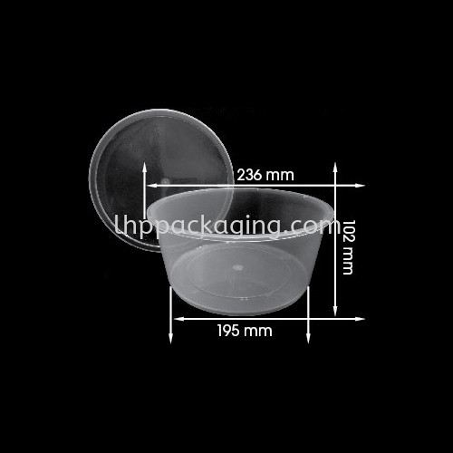 Round 3000 Body Round Series Food Container Malaysia, Johor. Manufacturer, Suppliers, Supplies, Supplier, Supply   LHP PACKAGING SDN BHD
