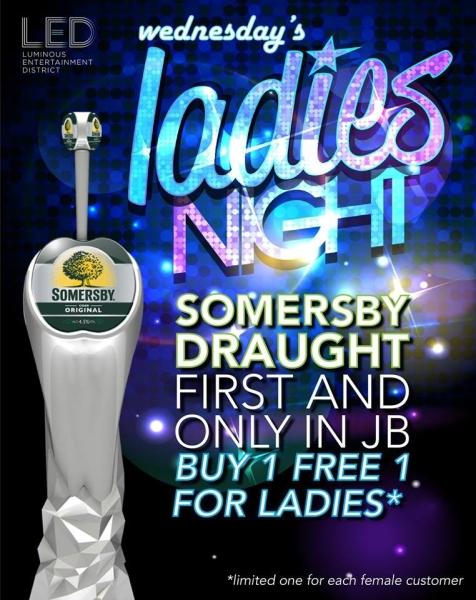 Ladies Night Event Johor Bahru (JB), Mount Austin, Malaysia Bar, Pub | LED Modern Bar