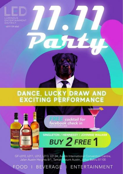Event Event Johor Bahru (JB), Mount Austin, Malaysia Bar, Pub | LED Modern Bar