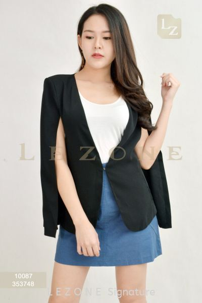 10087 CAPE JACKET【1st 35% 2nd 45% 3rd 55%】 打折外套 特 价 优 惠   Supplier, Suppliers, Supply, Supplies   LE ZONE Signature