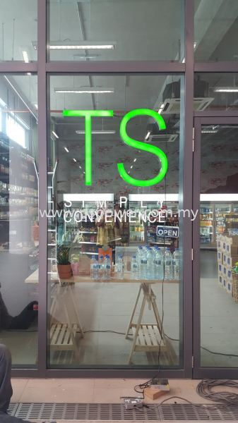 Stainlees Steel Box up and Acrylic surface with Front lit - TS LED Signage  LED SIGNAGE SIGNAGE Selangor, Malaysia, Kuala Lumpur (KL), Puchong Manufacturer, Maker, Supplier, Supply | PS Power Signs Sdn Bhd