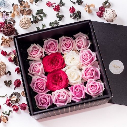 GLAM AMOUR Black Flower Box Online Flower Delivery Kuala Lumpur (KL), Selangor, Malaysia, Cheras Delivery, Service | Sweet Maximus Enterprise