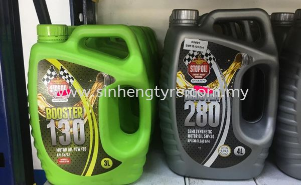 Booster 130 10W/30 Stopoil Engine Oil Lubricants Johor Bahru (JB), Malaysia, Perling Supplier, Suppliers, Supply, Supplies | Sin Heng Tyre & Battery Co. Sdn Bhd