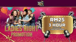 Rockstar Ladies Night Promotion 2018 ( seremban)
