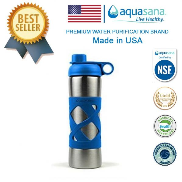 AQUASANA Stainless Steel Insulated Clean Filter Bottle 500ML Others Malaysia, Selangor, Kuala Lumpur (KL), Puchong Distributor, Supplier, Supply, Supplies | Water Shop (M) Sdn Bhd