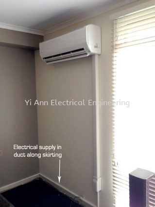 Air Conditioner Point Wiring 空调点接线 Kuala Lumpur (KL), Selangor, Malaysia Services, Contractor | Yi Ann Electrical Engineering