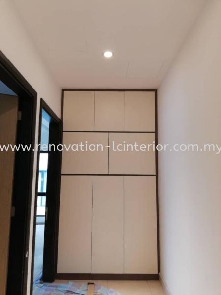 Full High Wardrobe Wardrobe Selangor, Kuala Lumpur (KL), Malaysia. Service, Design, Supplier, Supply | LC Cabinetry & Renovation Design