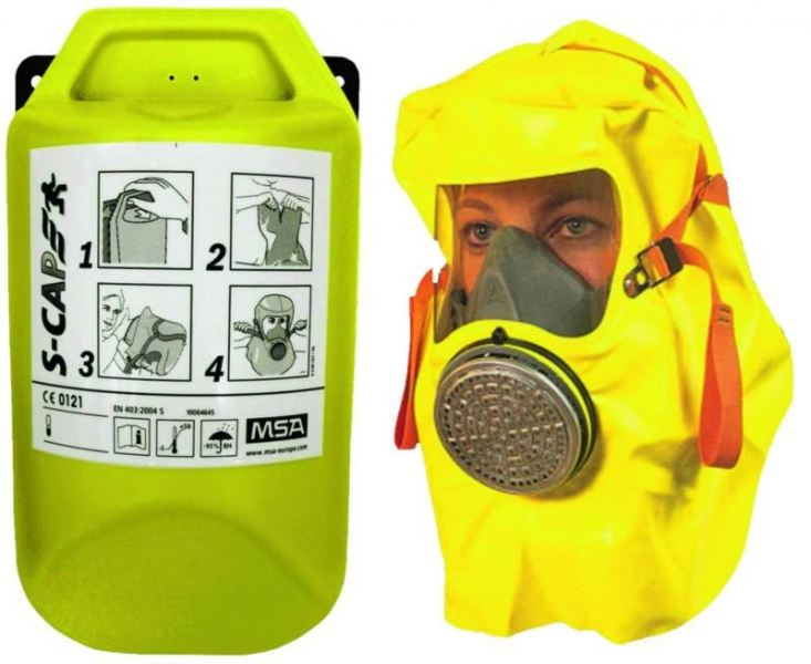 S-Cap Fire Escape Smoke Hood Escape Respirators Air-Purifying Respirators (APR) Selangor, Malaysia, Kuala Lumpur (KL), Puchong Supplier, Suppliers, Supply, Supplies | Dynamic Safety Sdn Bhd