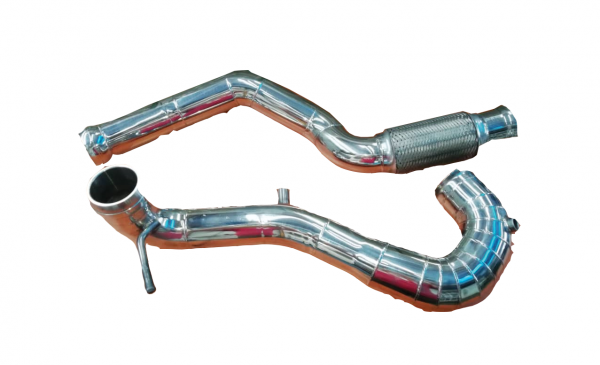 Mercedes A45 Stainless Steel Turbo Down Pipe 1 set - RM 1200 Promotions Malaysia, Kuala Lumpur (KL), Selangor, Kepong Manufacturer, Supplier, Supply, Supplies   XMAN EKZOS