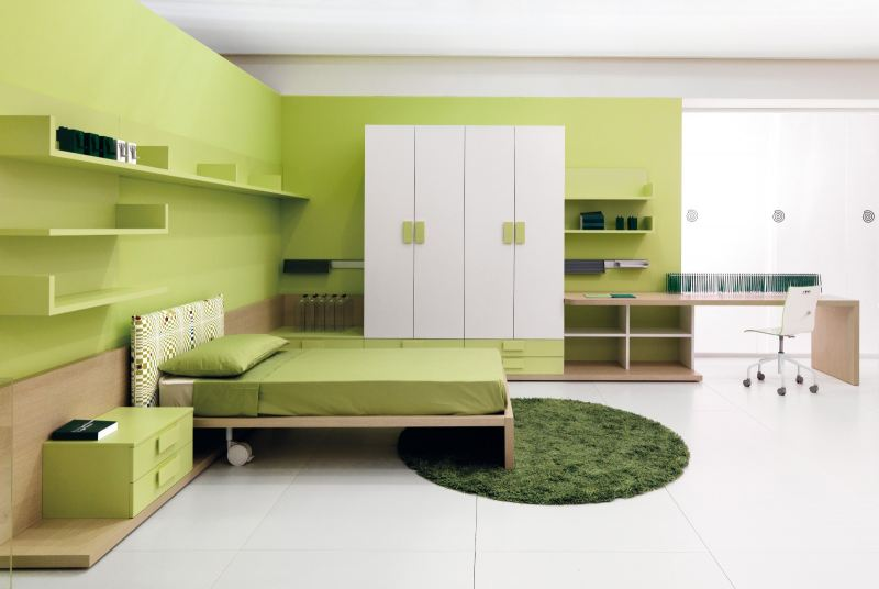 Green Style Bedroom Design  Bathroom 3D Design Drawing   | HomeBagus - Home and Deco ONLINE EXPO!
