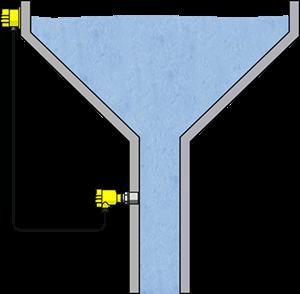 Pressure measurement in a water tower