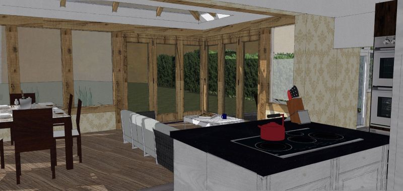 Dinning 3D Design Dining Area  3D Design Drawing   | HomeBagus - Home and Deco ONLINE EXPO!