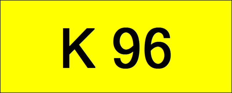 Number Plate K96 Rare Classic Plate Johor Bahru (JB), Kuala Lumpur, KL, Malaysia. Service | AAA Premium Sdn Bhd