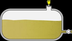Level measurement in storage tanks