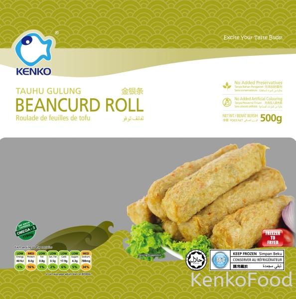 Beancurd Roll Specialty Johor Bahru, JB, Johor, Malaysia. Supplier, Manufacturer, Supplies, Supply | Kenko Food Sdn Bhd