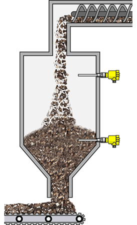 Point level detection in front of the wood pellet drying facility Energy Vega Innovation Malaysia Supplier, Supply, Suppliers, Supplies   VG Instruments (SEA) Sdn Bhd