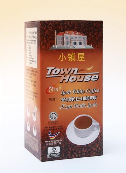 Town House 3 in 1 Ipoh White Coffee 小镇屋三合一怡保白咖啡 Coffee Malaysia, Perak, Penang, Selangor, Kuala Lumpur (KL), Johor Bahru (JB) Manufacturer, Supplier, Exporter, Supply | WEN JIANG MEDICAL INDUSTRIES SDN BHD