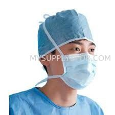 Tie-On  Face Mask  Disposable  Face Mask, Hair Net, Shoe Cover , Arm Sleeve , PVC Boot Shoe Johor Bahru (JB), Malaysia Supplier, Supply, Supplies, Wholesaler   Mysupply Global Trading PLT