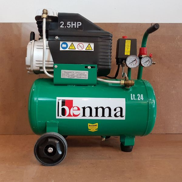 Benma LB24F Air Compressor 24litre 2.5hp ID117651 Knight (Engine & Electric & Oil-less) Air Compressor Seri Kembangan, Selangor, Kuala Lumpur (KL), Kajang, Malaysia Supply Supplier Suppliers | Knight Auto Sdn Bhd