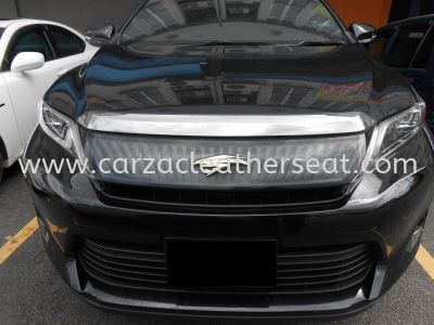 TOYOTA HARRIER 2015 REPLACE STEERING WHEEL LEATHER