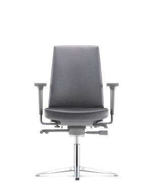 CV6113L-19D98 Visitor / Conference Chair With Arm CLOVER OFFICE CHAIR OFFICE FURNITURE Kuala Lumpur (KL), Selangor, Malaysia Supplier, Suppliers, Supply, Supplies | JFix Solutions Sdn Bhd