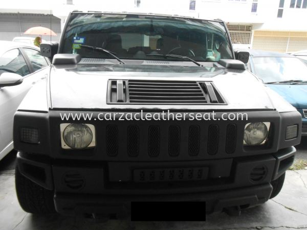 Hummer H2 Cover Spray & Replace Nappa Leather Seat Others Cheras, Selangor, Kuala Lumpur, KL, Malaysia. Service, Retailer, One Stop Solution | Carzac Sdn Bhd