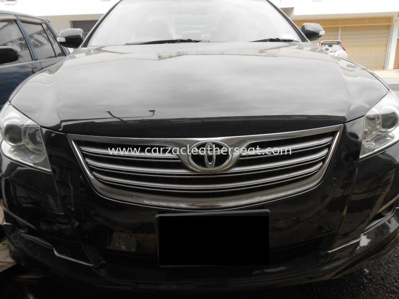 TOYOTA CAMRY 08  REPLACE STEERING LEATHER Steering Wheel Leather Cheras, Selangor, Kuala Lumpur, KL, Malaysia. Service, Retailer, One Stop Solution | Carzac Sdn Bhd