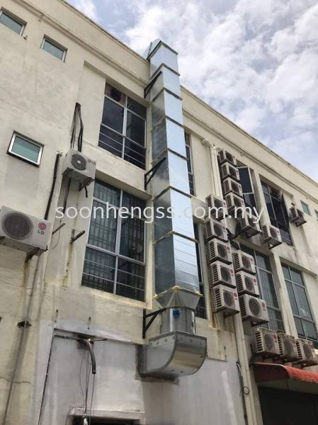 EXCHAUST HOOD STAINLESS STEEL Johor Bahru (JB), Skudai, Malaysia Contractor, Manufacturer, Supplier, Supply   Soon Heng Stainless Steel & Renovation Works Sdn Bhd