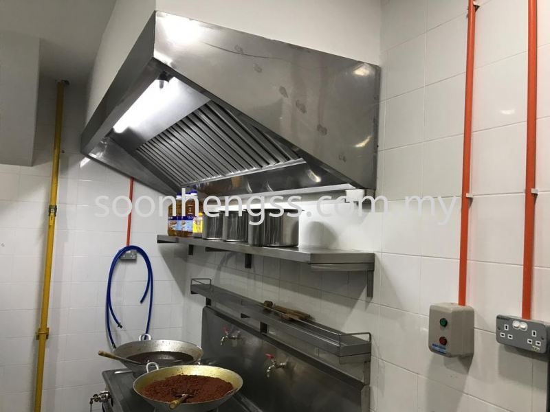 EXCHAUST HOOD STAINLESS STEEL Johor Bahru (JB), Skudai, Malaysia Contractor, Manufacturer, Supplier, Supply | Soon Heng Stainless Steel & Renovation Works Sdn Bhd