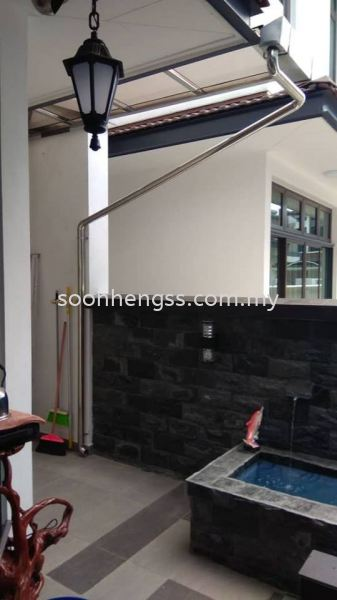 GUTTER STAINLESS STEEL Johor Bahru (JB), Skudai, Malaysia Contractor, Manufacturer, Supplier, Supply   Soon Heng Stainless Steel & Renovation Works Sdn Bhd