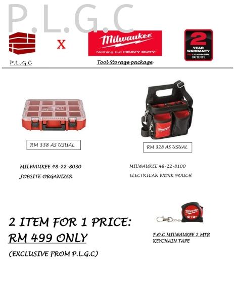 Milwaukee Storage package-1 Milwaukee Hand Tools Johor Bahru (JB), Pengerang, Malaysia Supplier, Suppliers, Supply, Supplies | Pengerang Link General Contractor Sdn Bhd