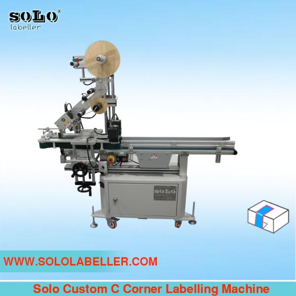 C Corner Labelling Machine (Customized Machine) Customized Labelling Selangor, Malaysia, Kuala Lumpur (KL), Puchong Machine, Manufacturer, Supplier, Supply | Solo Labelling Sdn Bhd
