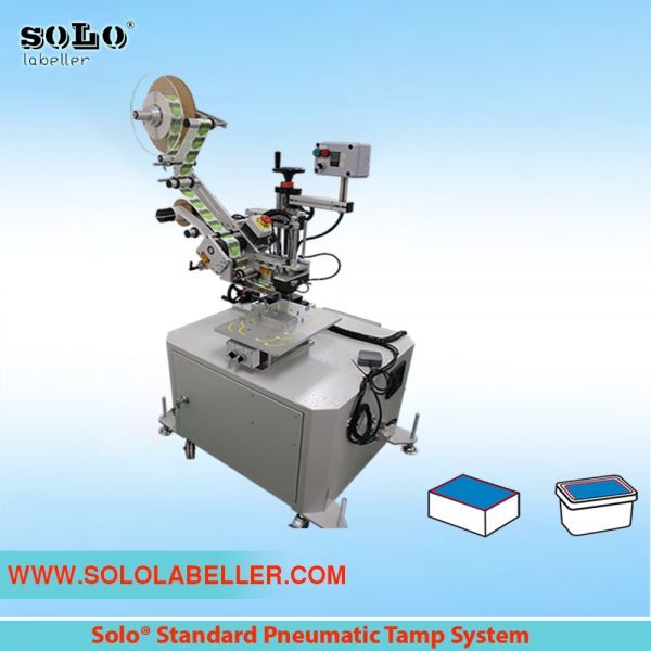 Standard Pneumatic Tamp System Labelling Machine Customized Labelling Selangor, Malaysia, Kuala Lumpur (KL), Puchong Machine, Manufacturer, Supplier, Supply | Solo Labelling Sdn Bhd