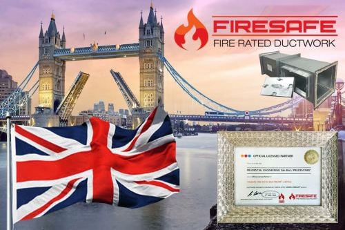 FIRESAFE Fire rated ductwork