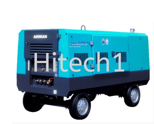 Air Compressor Portable Series PDS655S-4B2 Air Compressor Selangor, Malaysia, Kuala Lumpur (KL), Puchong Rental, Supplier, Supply | Hitech One Machinery Sdn Bhd