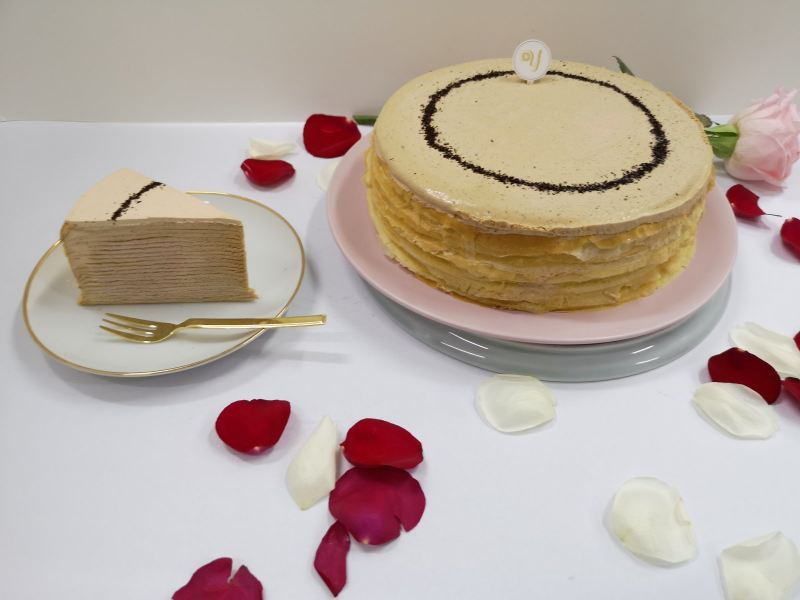 Earl Grey Crepe Cake Mille Crepe Cakes Delivery Online Cake Delivery Kuala Lumpur (KL), Selangor, Malaysia, Cheras Delivery, Service | Sweet Maximus Enterprise