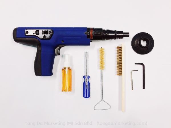 SF360A Semi-automatic Fastening Tool Semi Automatic Powder Actuated Tools Fastener Shooting Tools  Penang, Malaysia, Selangor, Kuala Lumpur (KL) Supplier, Supply, Manufacturer | Tong Da Marketing (M) Sdn Bhd