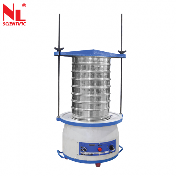 Triple Motion Sieve Shaker from 200 up to 450 mm Dia. - NL 1015 X / 009A Aggregate & Rock Testing Equipments Malaysia, Selangor, Kuala Lumpur (KL), Klang Manufacturer, Supplier, Supply, Supplies | NL Scientific Instruments Sdn Bhd
