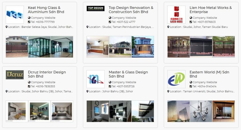 Senarai Kedai Kabnet Dapur Murah Murah Di Kawasan Johor Bahru Johor Almari Dapur Kabinet Dapur Senarai Pedagang Homebagus Home And Deco Online Expo
