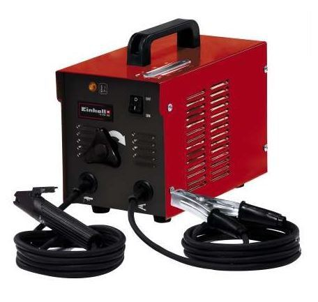 EINHELL ELECTRIC COMPACT ARC WELDING MACHINE (1.6-2.5MM ELECTRODE), WM-EW150V-RED BODY