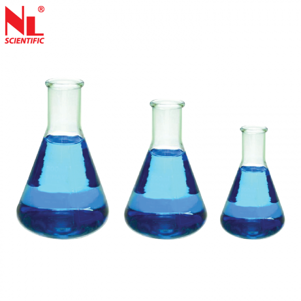 Glass Conical Flask Narrow Mouth - NL 7003 G Miscellaneous Testing Equipments Malaysia, Selangor, Kuala Lumpur (KL), Klang Manufacturer, Supplier, Supply, Supplies | NL Scientific Instruments Sdn Bhd